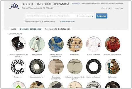 «Biblioteca Digital Hispánica»