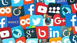 Redes Sociais timeline