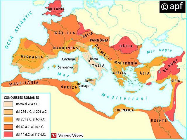 Les Guerres Púniques (Expansió del Mediterrani)