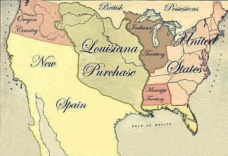 Cessione della Louisiana agli Stati Uniti d'America