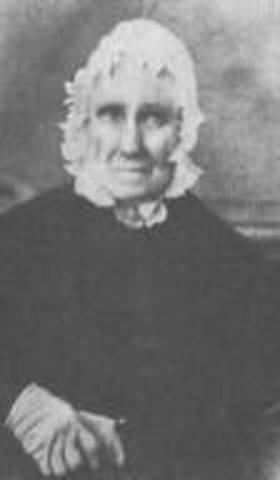 Lincoln's stepmother Sarah bush Johnston.