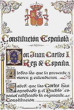 desembre:aprovació de la constitució