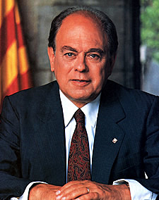 març:Jordi Pujol president de la generalitat