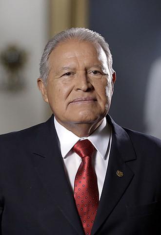 Salvador Sánchez Cerén, quien gobernó en el período de 20014-2019