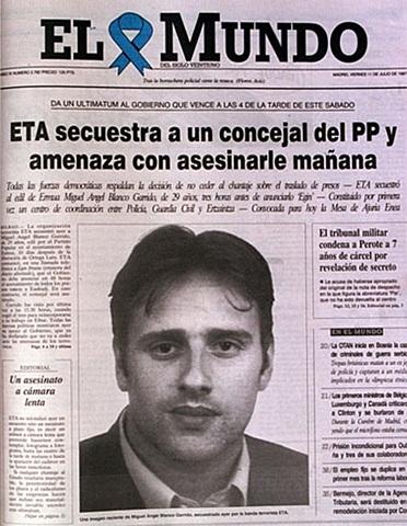 octubre:ETA assesina a Miguel Angel