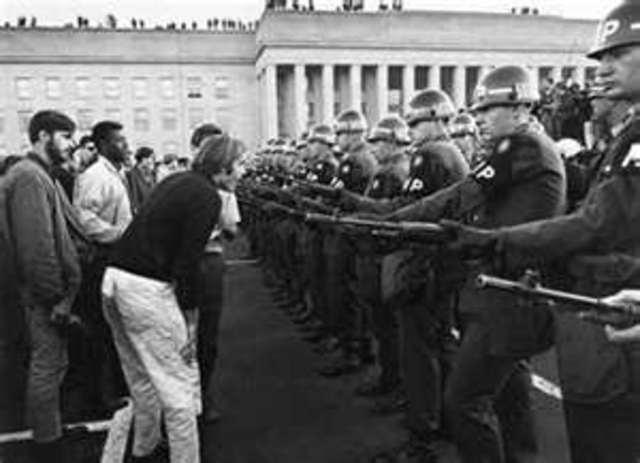 1968 violent confrontation