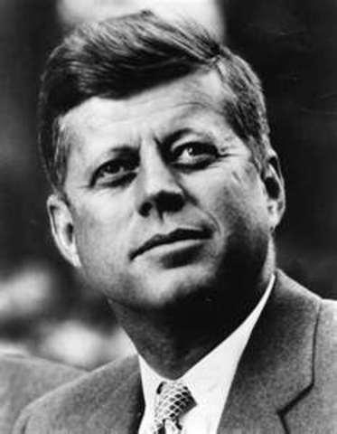 1963 John F. kennedy