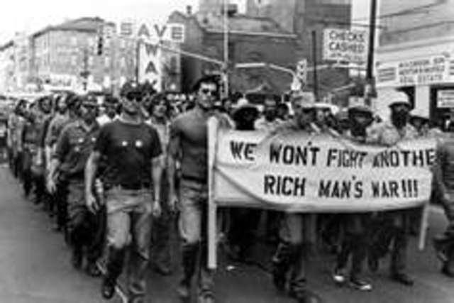 Late 60s Anti-vietnam movement
