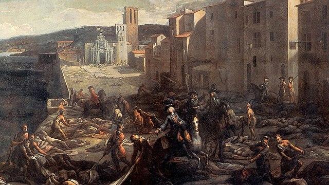 En Inglaterra la epidemia de peste de la década de 1500