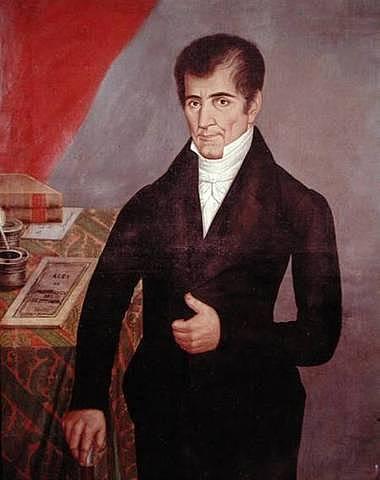 José Cecilio del Valle (1821)