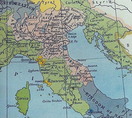 La Repubblica italiana si trasforma nel Regno d'Italia (e Napoleone ne diventa il re)