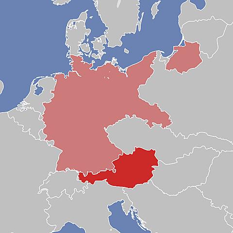 La Germania conquista l'Austria e la regione dei Sudeti