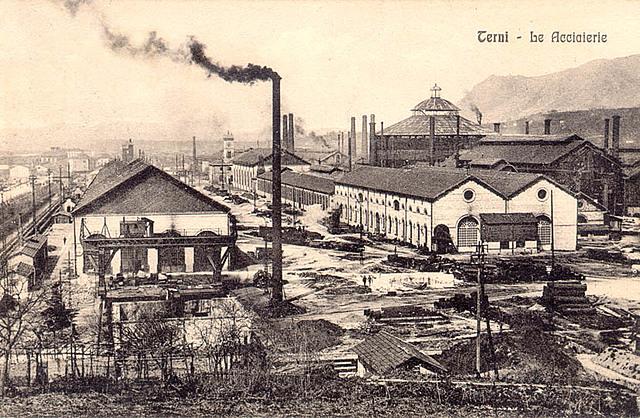 La nascita di un'acciaieria a Terni