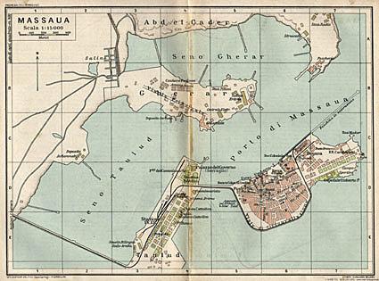 Occupazione del porto di Massaua