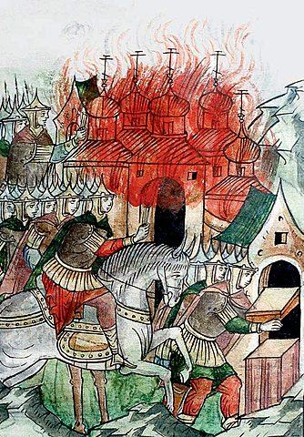 1327г. Тверское восстание. Подавлено Золотой Ордой при участии Москвы. Иван I Калита