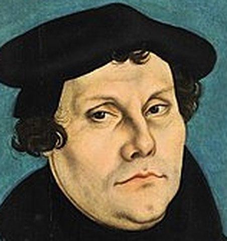 Pubblicazione delle 95 tesi di Lutero