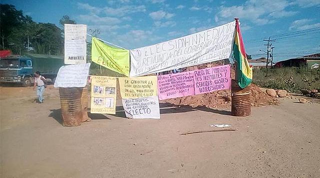 Suman 7 los bloqueos por cuarentena y elecciones