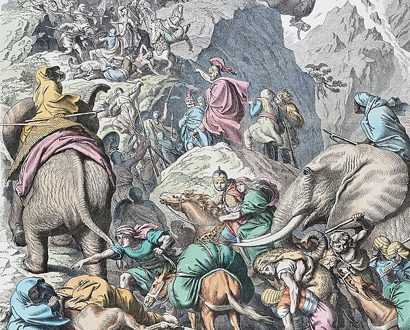 Rome: Hannibal crosses the Alps and invades Italy