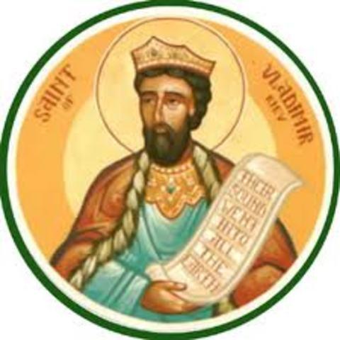 Conversión de Vladímir de Kiev