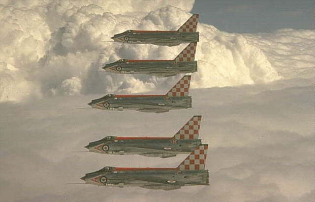 56 Sqn. Re-equip with the updated Lightning F3