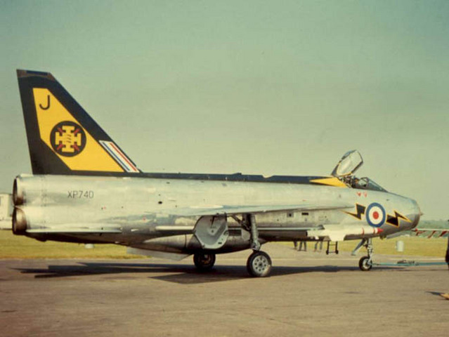 111 Sqn. Re-equip with the updated Lightning F3