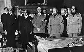 30 septembre 1938 Accord de Munich