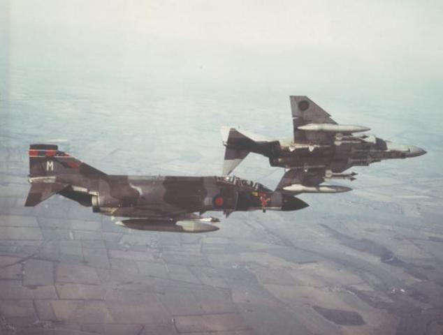 23 Sqn. re-equip with the Phanton FGR2