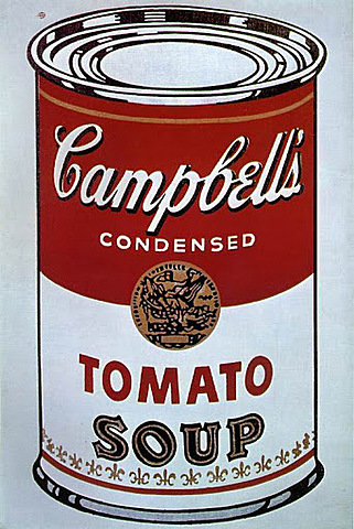 Sopa campbell's de Warhol (pop-art)