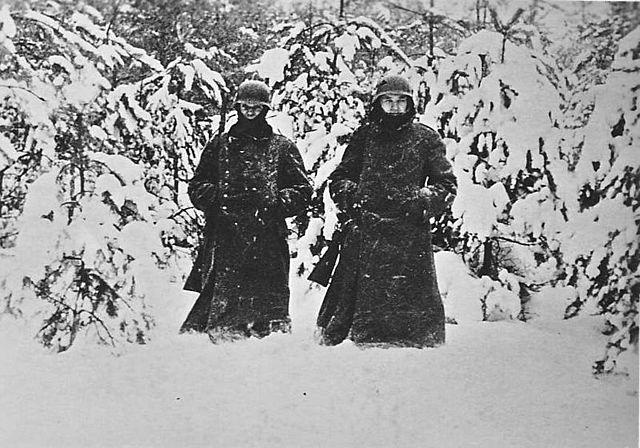 I tedeschi costretti alla ritirata