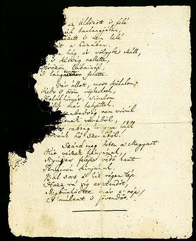 Letisztázza a Hymnus című költeményét