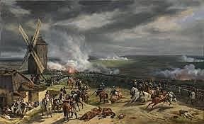 la battaglia di Valmy