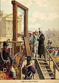 Luigi XVI viene condannato a morte
