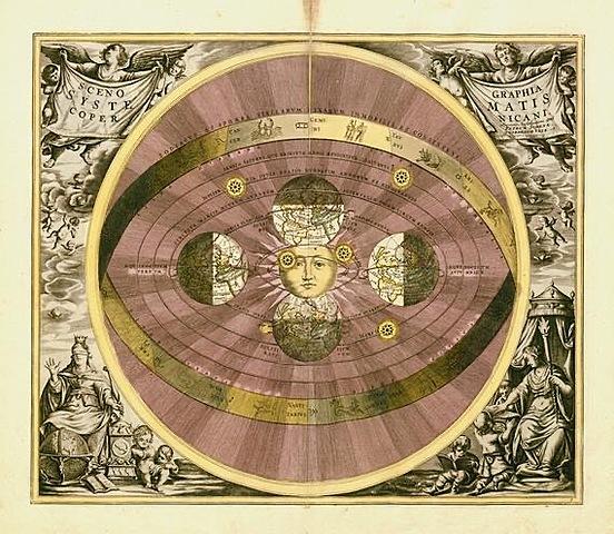 Copèrnic proposa l'heliocèntrisme de l'Univers.