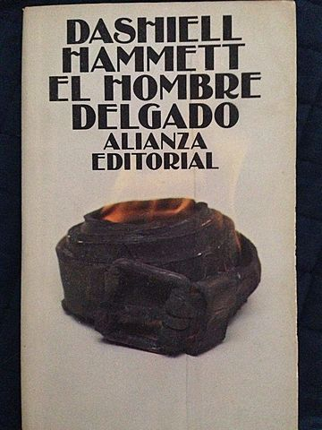 """El hombre delgado"", Dashiell Hammett"