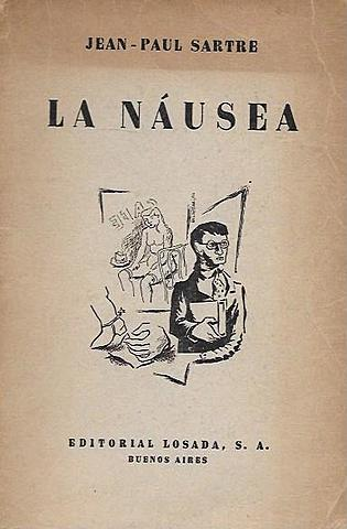 """La náusea"", Jean-Paul Sartre"