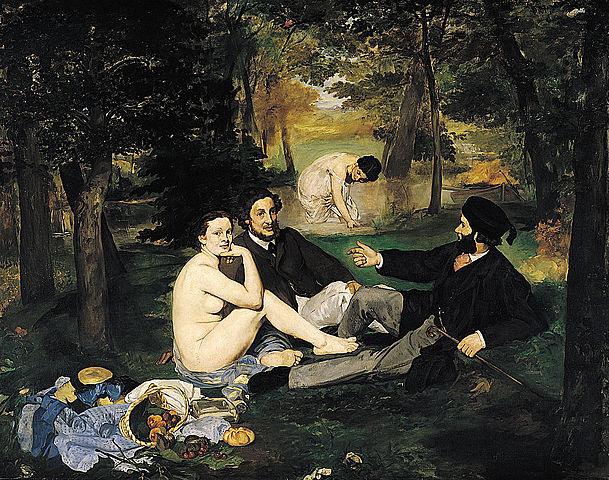 """""""Завтрак на траве """" Эдуард Мане"""