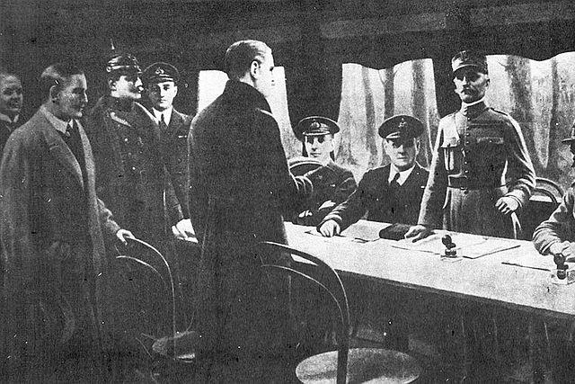 Alemanya signa l'armisitic