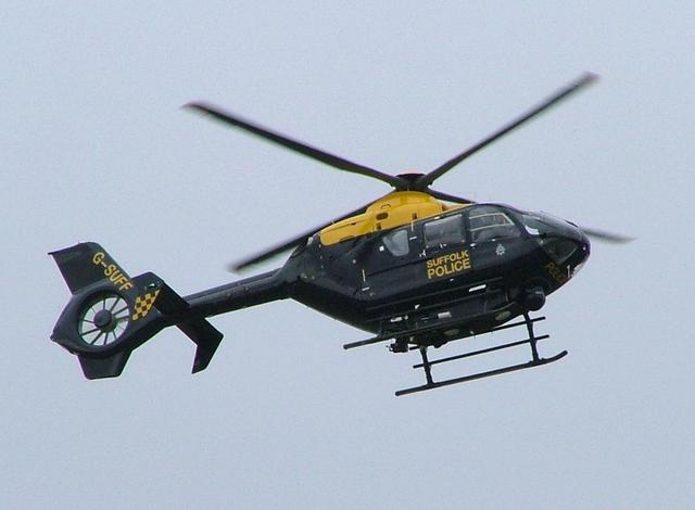 Advanced police helicopter arrives