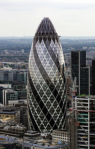 """""""Torre 30 St Mary Axe""""- Norman Foster"""