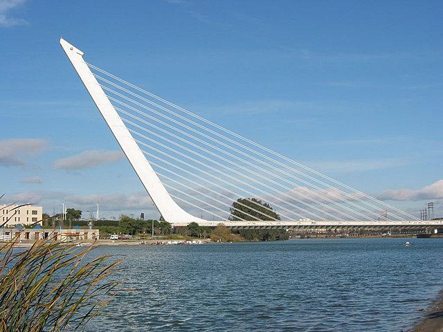 """""""Puente del Alamillo"""" - Santiago Calatrava"""