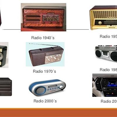 la evolución del radio timeline