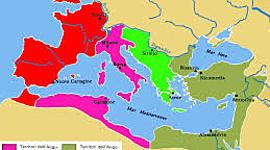 I Severi e da Diocleziano fino alla caduta dell'Impero timeline