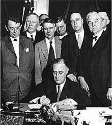 Creació del New Deal