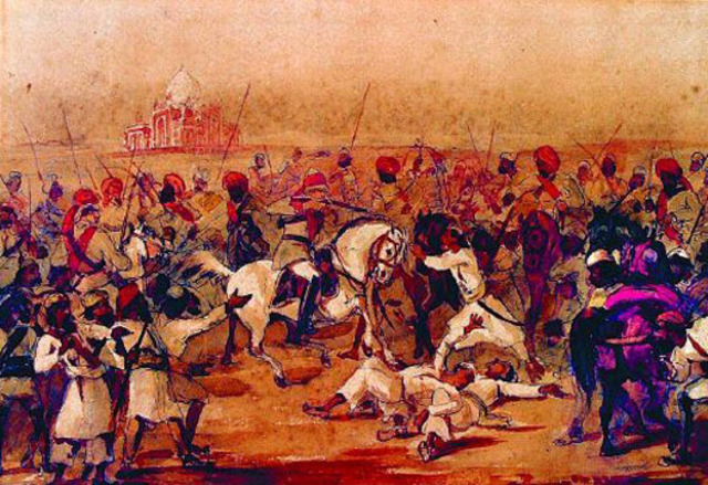 India's War of Independence Starts