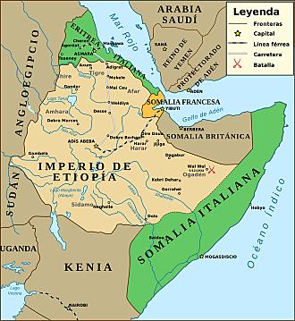Itàlia envaeix Etiopia