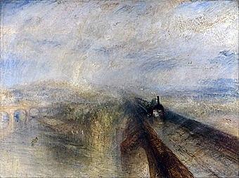 """""""Дождь, пар и скорость"""" Уильям Тернер"""