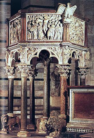 Pulpito del Battistero di Pisa