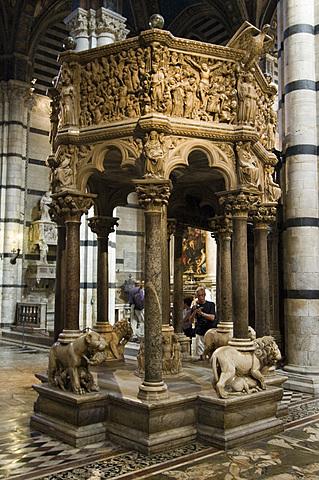 Pulpito del Duomo di Siena