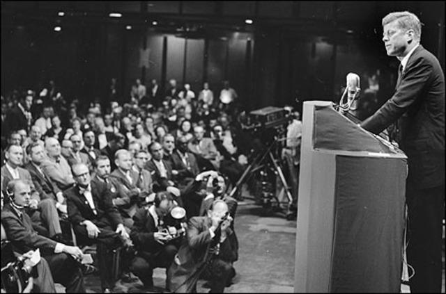 JFK Speaks at Houston Ministers' Conference