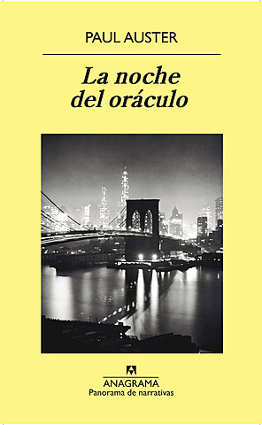 """""""La noche del oráculo"""" Paul Auster"""